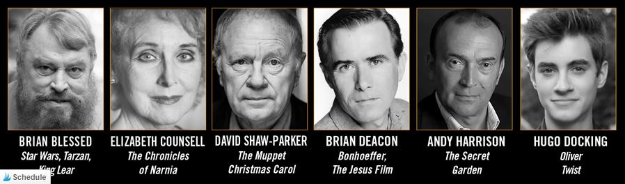 Main cast members for St. Bartholomew's Eve by Heirloom Audio