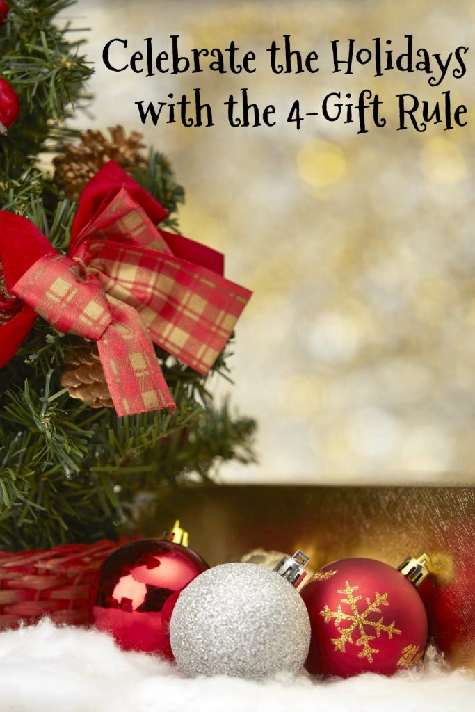 Celebrate the Holidays with the 4-Gift Rule