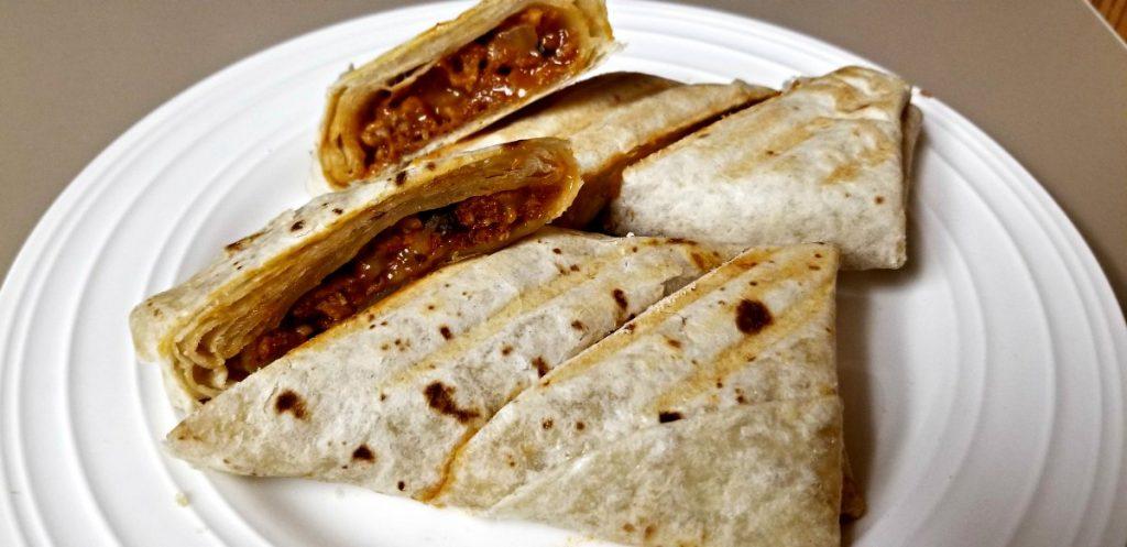 Alpha Burritos Ready to Serve