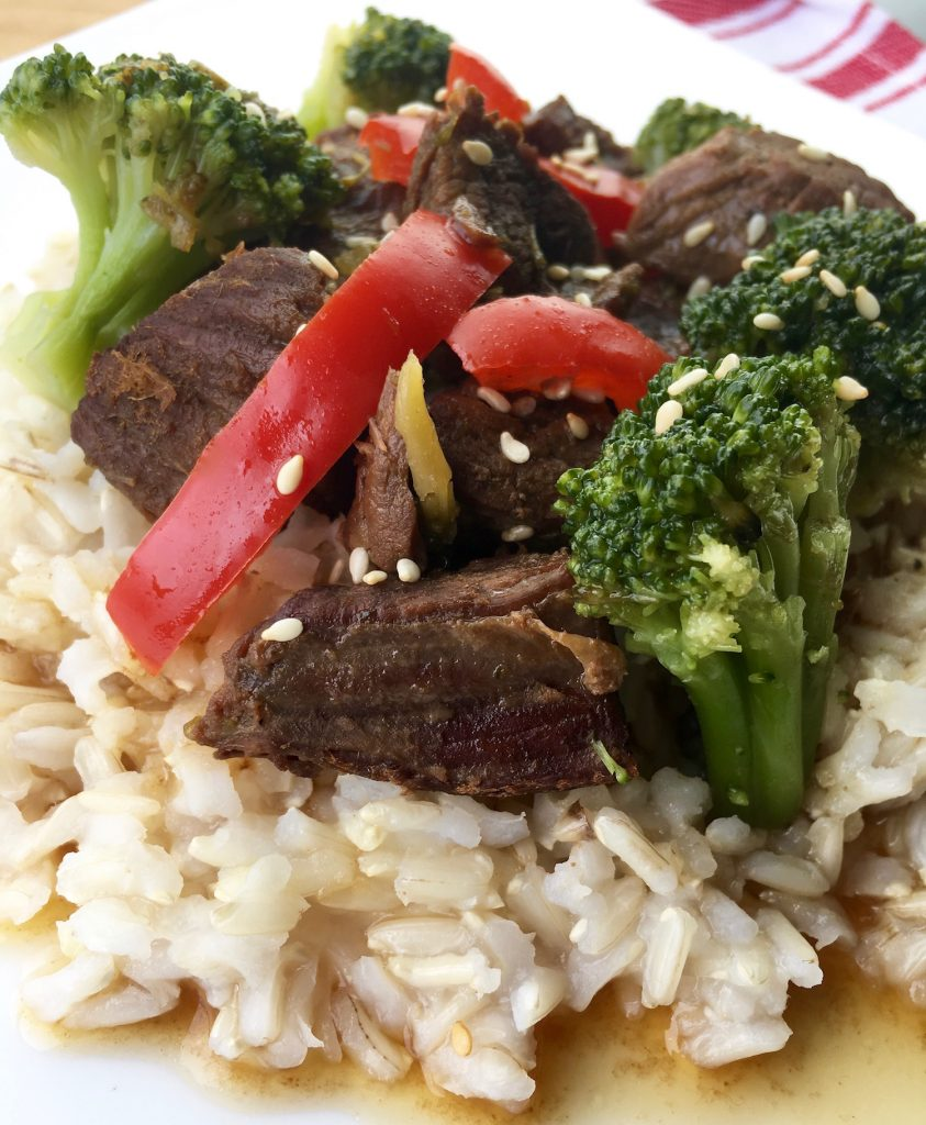Serve Beef Broccoli over your favorite rice