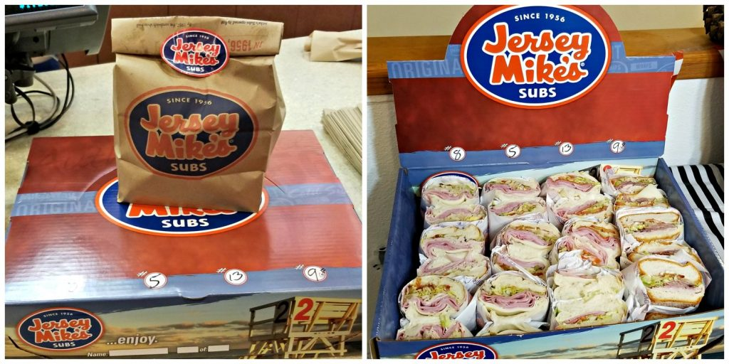 Jersey Mike's Catering Makes Stocking your Buffet Spread Easier