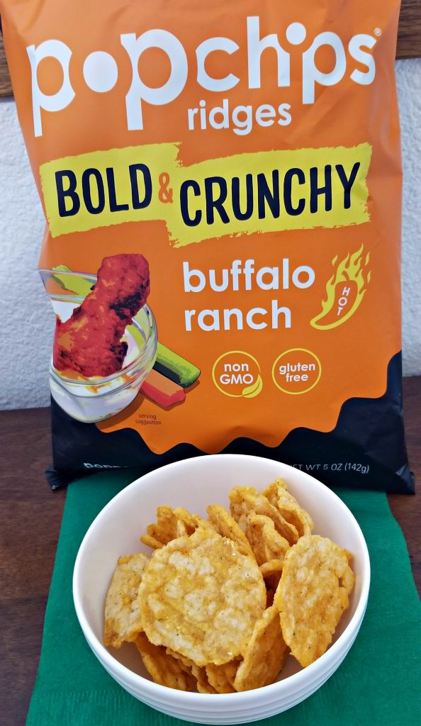 popchips bold & crunchy buffalo ranch