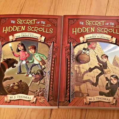 Continuing Adventures of Secret of the Hidden Scrolls by MJ Thomas