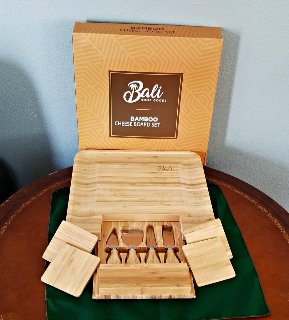 Bamboo Cheeseboard Set