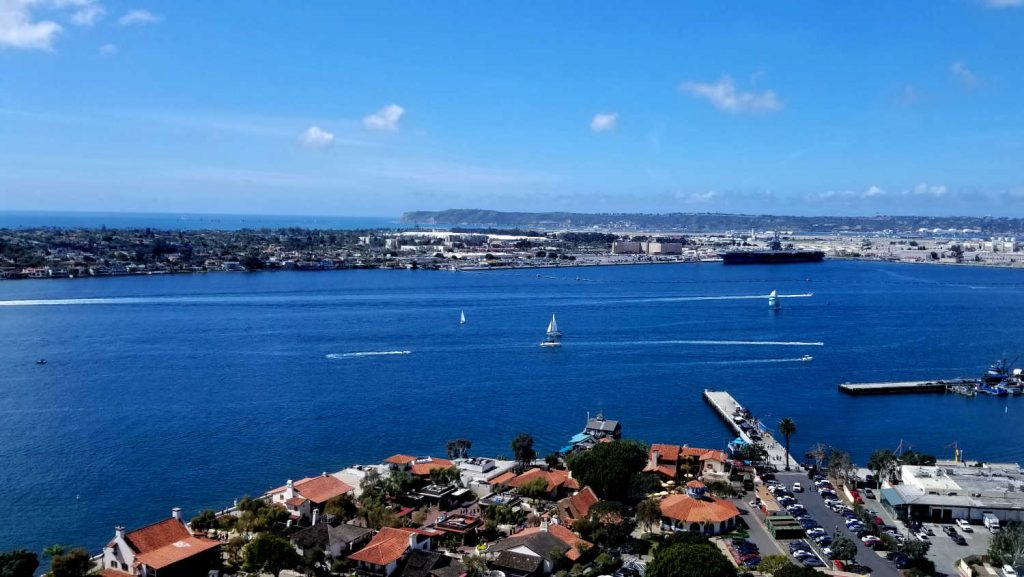 View of the Bay in San Diego