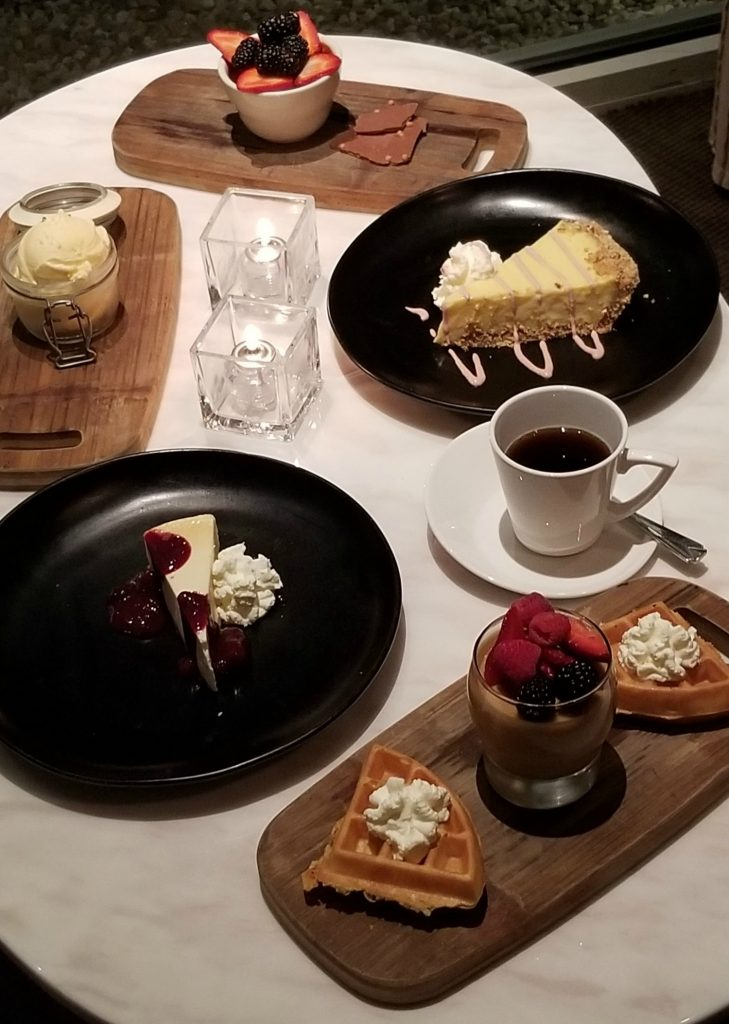 5 Dessert Options at BlueFin