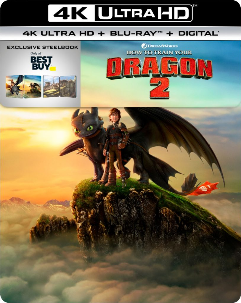 How to Train Your Dragon 2 4K Blu-Ray Collectible Steelbook