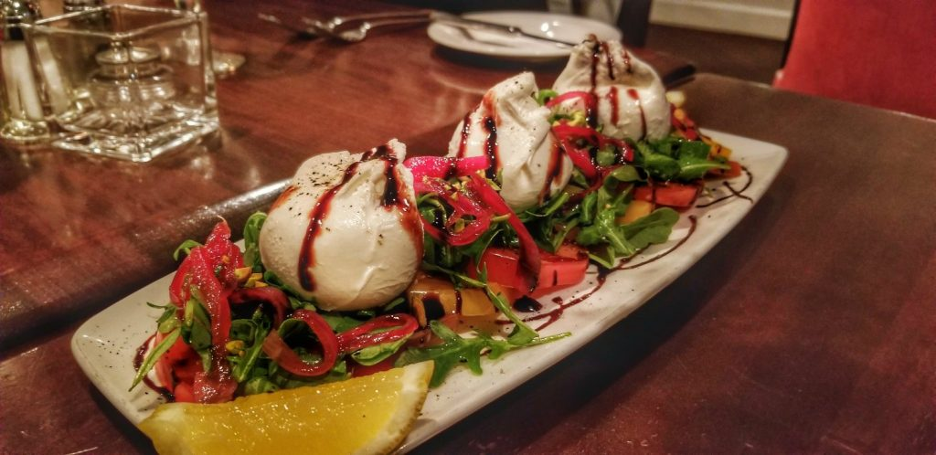 Chefs take on Caprese Salad at BlueFin