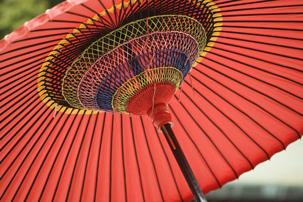 Parasol or Umbrella for Sun Protection
