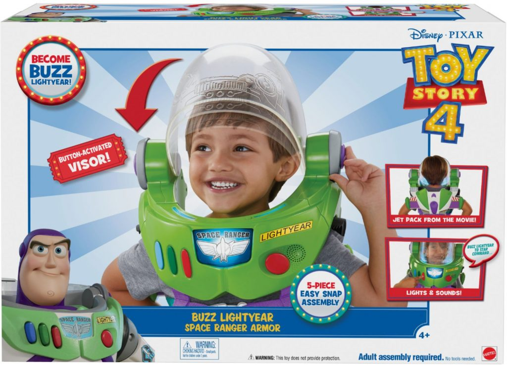 Buzz Lightyear Space Ranger Armor at Best Buy