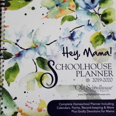 Homeschool Organization with the Hey, Mama! Homeschool Planner