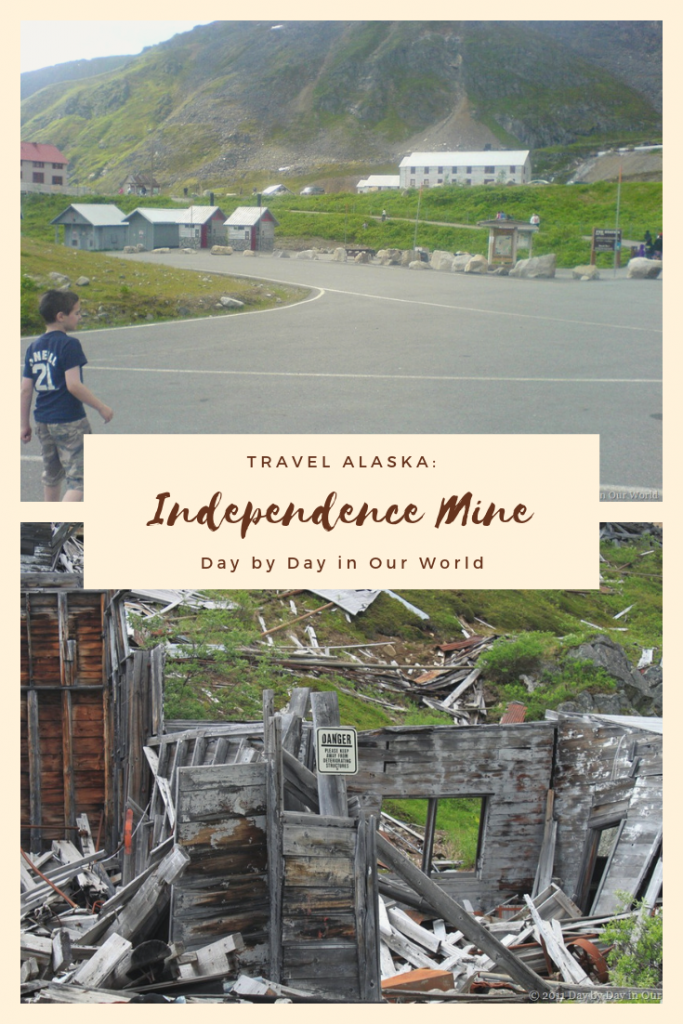Visiting Independence Mine north of Anchorage to learn more about the hunt for gold.