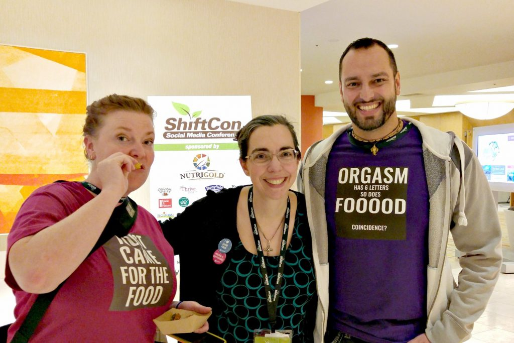 Make New Friends at ShiftCon like Holly and Raj at Primal Desire