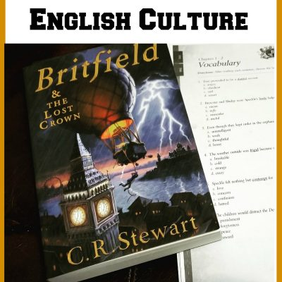 Britfield & the Lost Crown: An Adventure Novel That Integrates English History