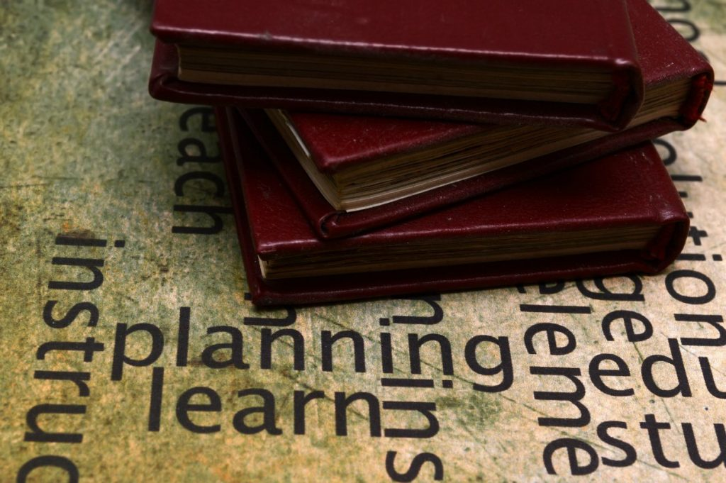After planning, select curriculum for your educational goals
