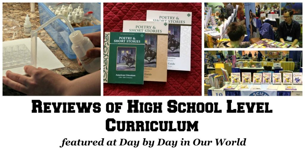 Reviews to Help Select High School Curriculum