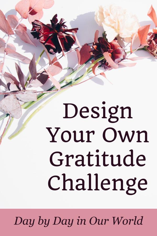 Design Your Own Gratitude Challenge PIN
