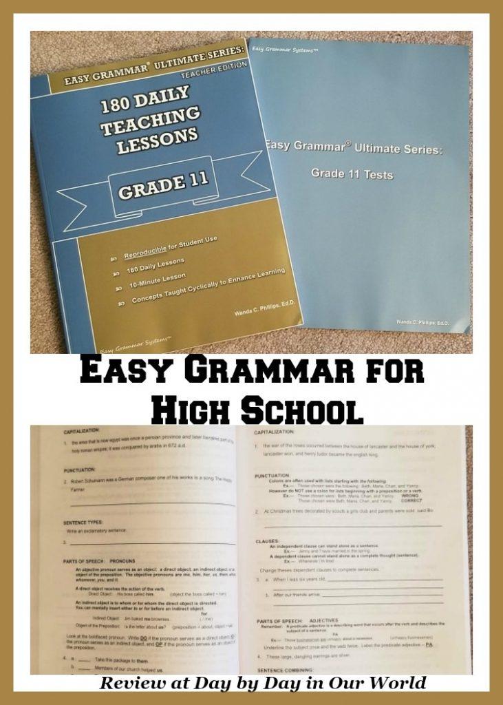 Easy Grammar for High School