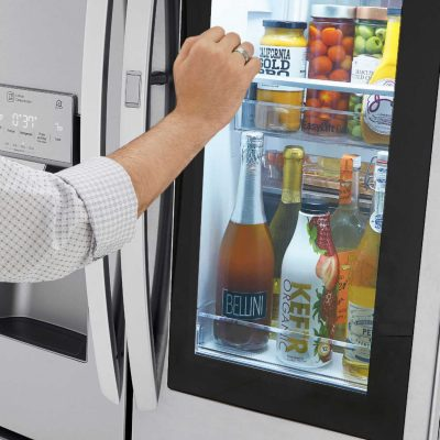 Ramp Up Your Game with the LG InstaView™ Door-in-Door® Refrigerator with Craft Ice™